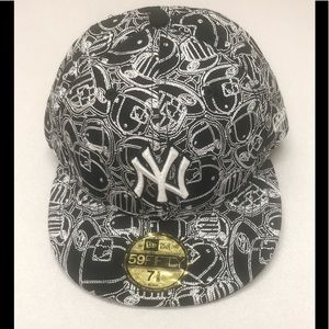 59Fifty 7 5/8 New Era NY Yankees Embroidered Hat
